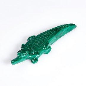 Крокодил малахит Конго 10 см