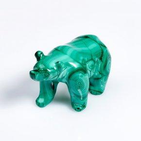 Медведь малахит Конго 7 см
