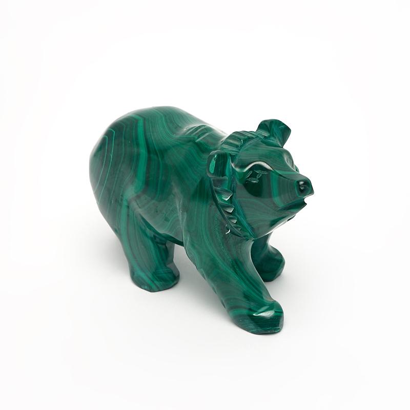 Медведь малахит 6 см