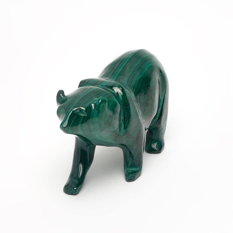 Медведь малахит 7,5 см