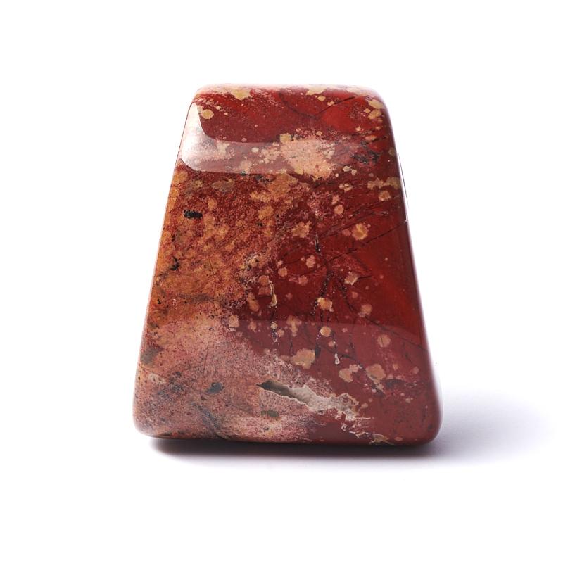 Кулон яшма красная ЮАР 3,5-4 см