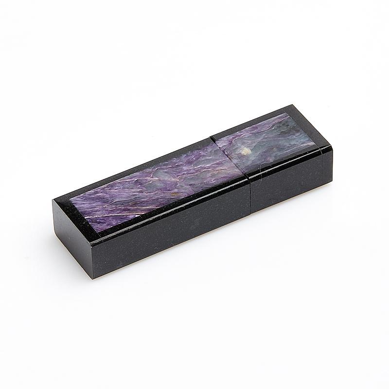 USB-флеш-накопитель долерит, чароит Россия 8 Гб 6,5 см