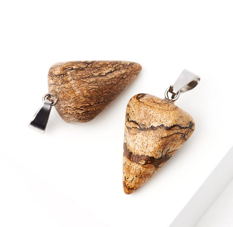 Кулон яшма рисунчатая маятник (биж. сплав) 3 см кулон яшма рисунчатая биж сплав 2 см