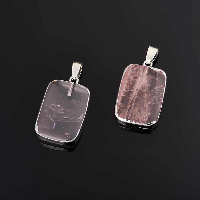 Кулон розовый кварц прямоугольник (биж. сплав) 3,5 см кулон розовый кварц прямоугольник 5 см