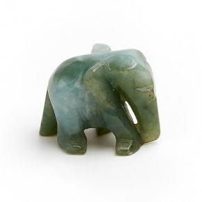 Слон жадеит Мьянма 2,5 см