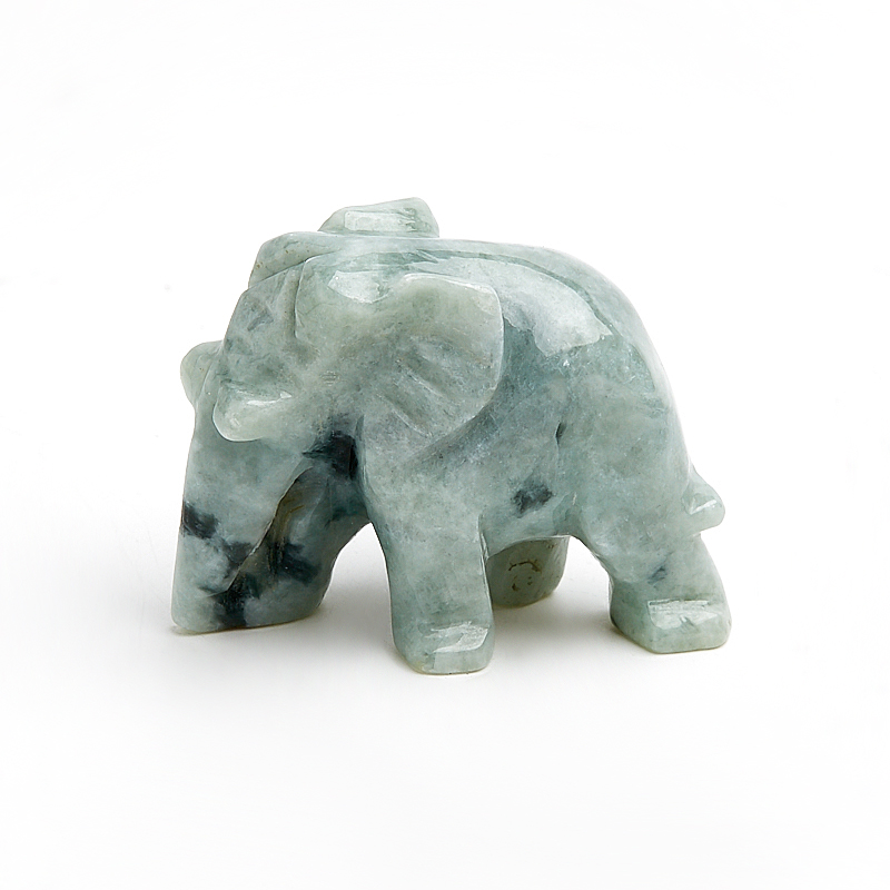 Слон жадеит 3,5-4 см шар жадеит 4 5 см