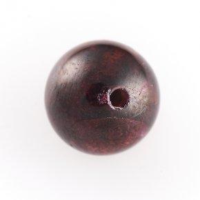 Бусина гранат альмандин Индия шарик 10 мм (1 шт)