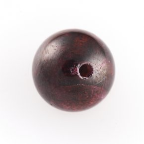 Бусина гранат альмандин Индия шарик 12 мм (1 шт)