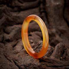Кольцо сердолик Ботсвана (цельное) размер 18