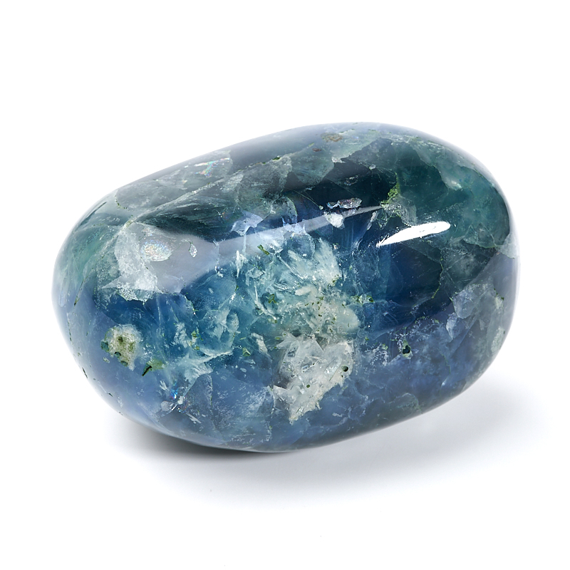 Галтовка Флюорит зеленый Китай (8-8,5 см) 1 шт