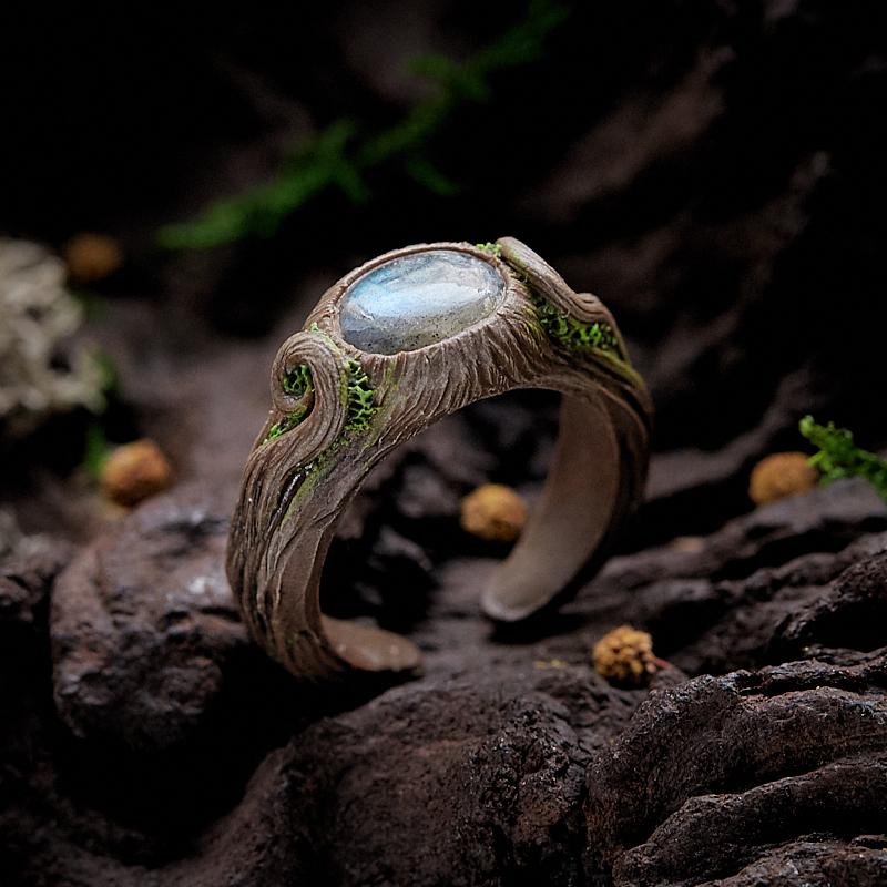 Кольцо лабрадор (полимерная глина) размер регулируемый fimo effect полимерная глина 56 гр цвет синий металлик 8020 302