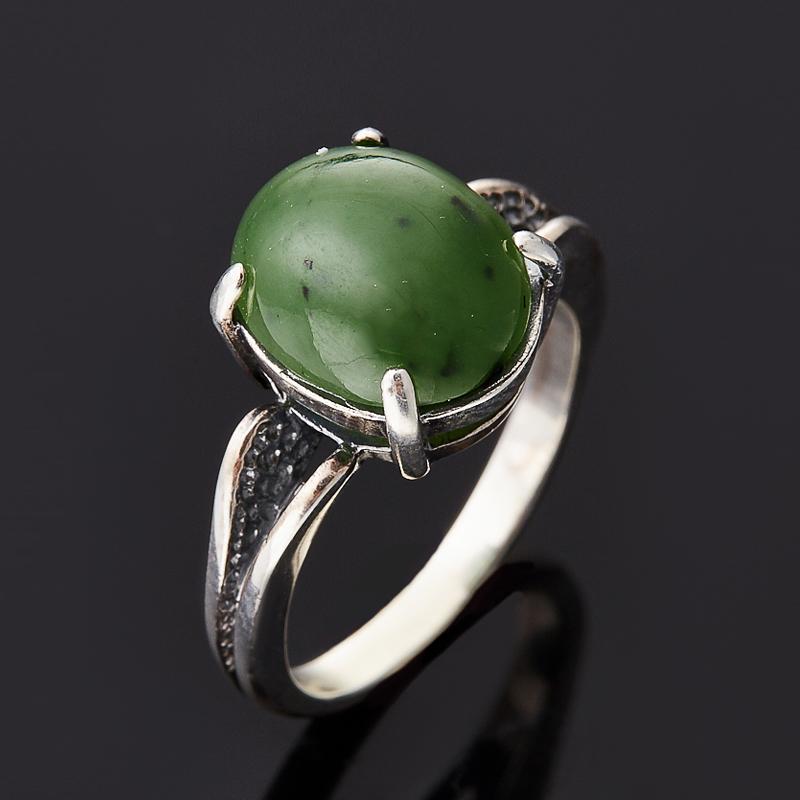 Кольцо нефрит зеленый (серебро 925 пр.) размер 17,5 кольцо нефрит зеленый серебро 925 пр размер регулируемый