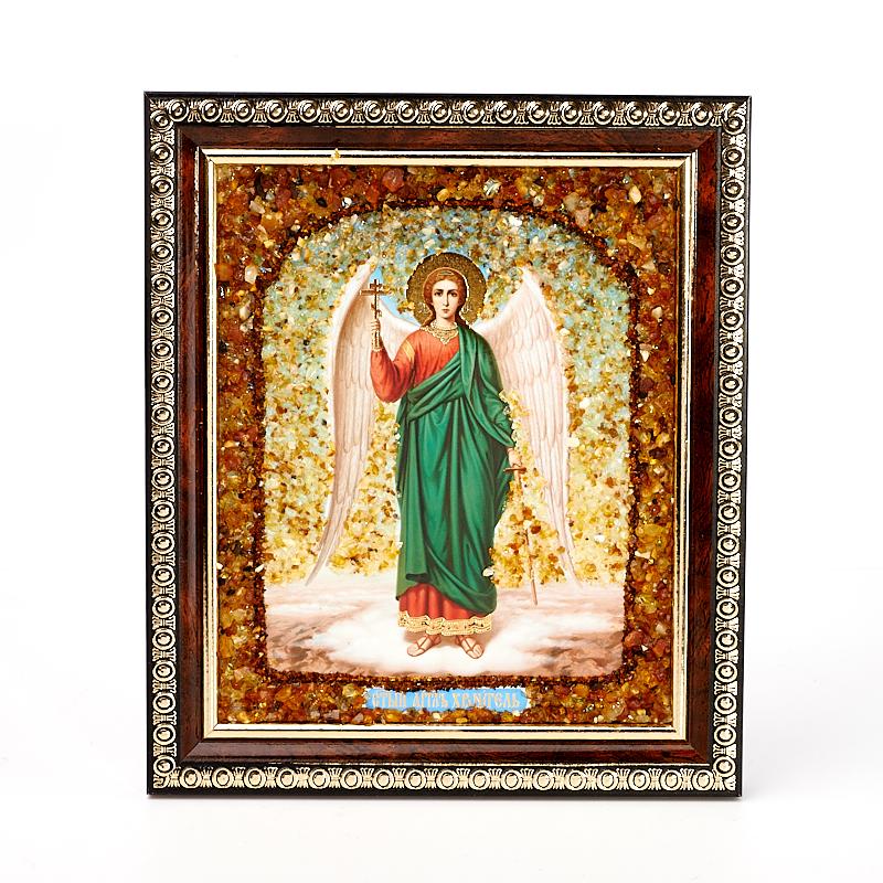 Изображение Святой Ангел янтарь 14х17 см