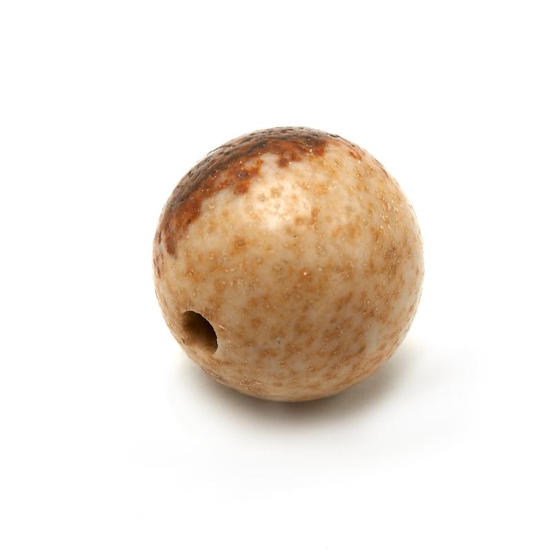 Бусина яшма рисунчатая Намибия шарик 8,5-9 мм (1 шт)