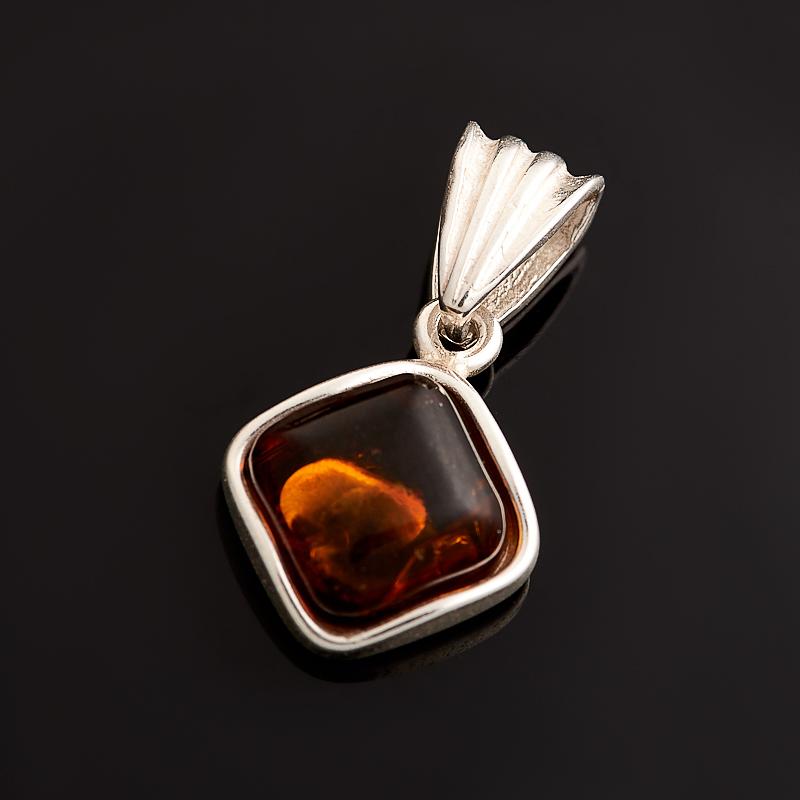 Кулон янтарь (латунь посеребр.) 2,5 см am 1734подвеска золотой ключик латунь янтарь