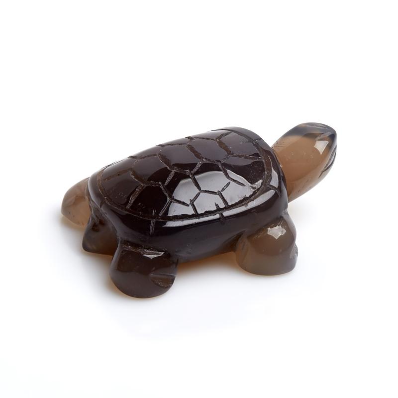 Черепаха агат серый 5 см стеклянная вставка ceramica classic мармара пальмира комплект серый 3шт компл 5 5х16 5 см