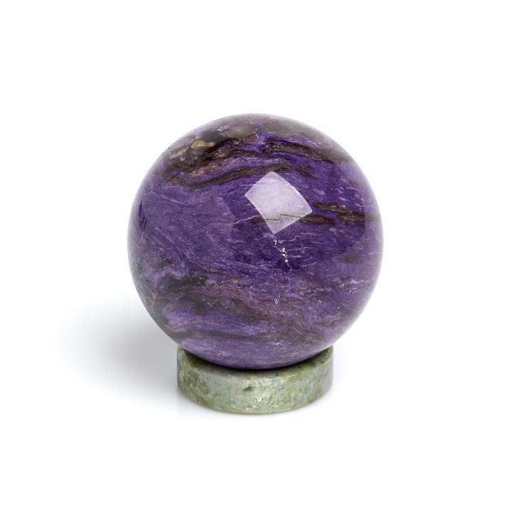 Шар на подставке чароит 5 см шар заринит 5 5 см
