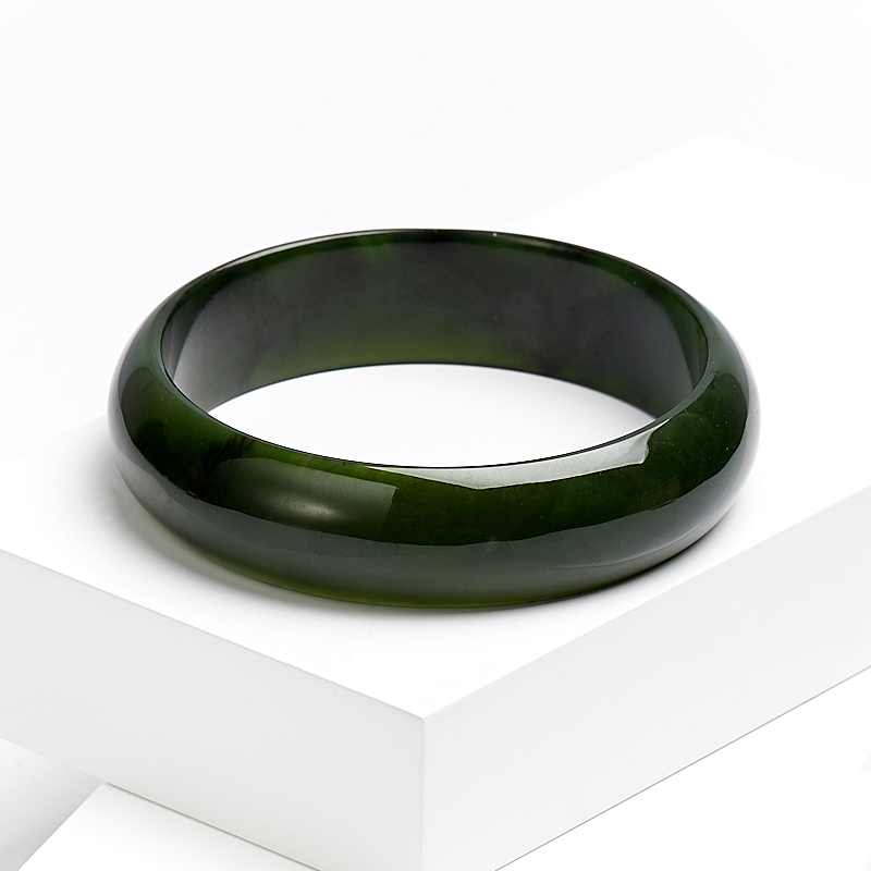 Браслет нефрит зеленый 20 см браслет галактика нефрит жемчуг хрусталь