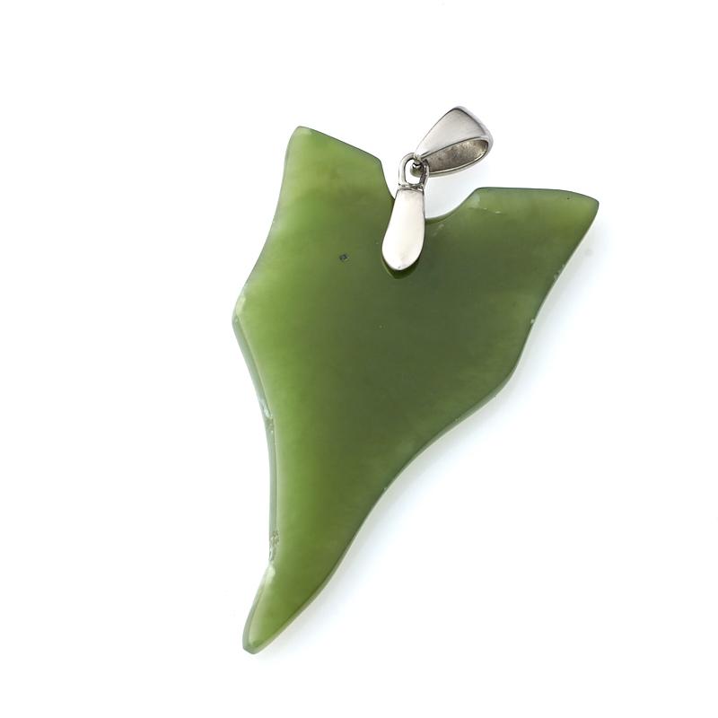 Кулон нефрит зеленый (биж. сплав) 6 см брелок нефрит зеленый 4 5 см page 6