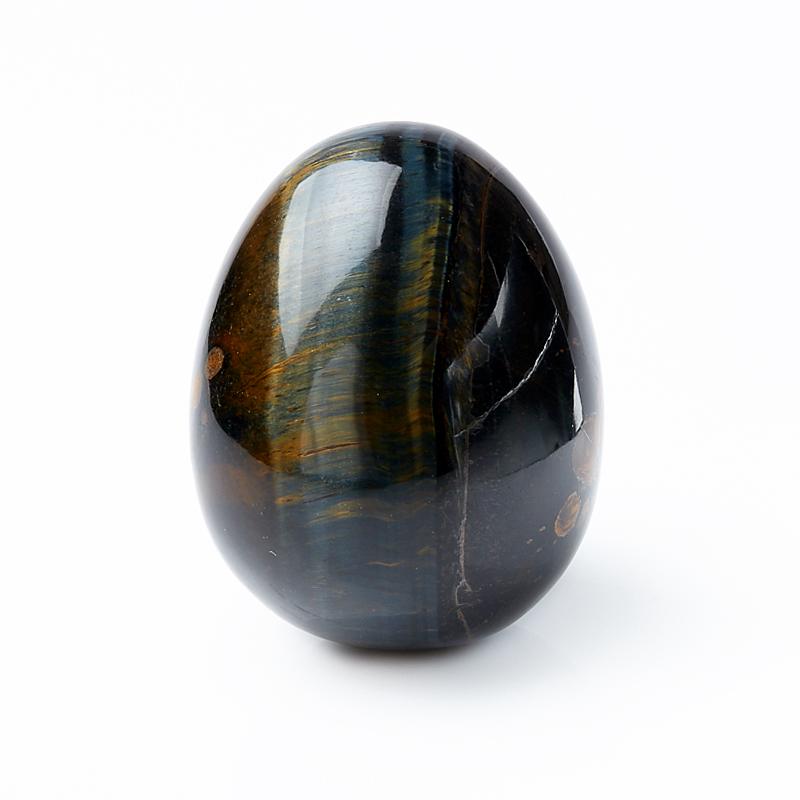 Яйцо тигрово-соколиный глаз 6 см браслет соколиный глаз 16 см
