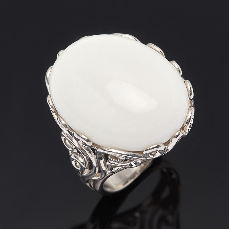 Кольцо кахолонг (серебро 925 пр.) размер 17 браслет миранда кахолонг