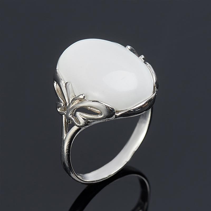 Кольцо кахолонг (серебро 925 пр.) размер 18 браслет кахолонг имитация малахита джессика