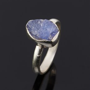 Кольцо танзанит Танзания (серебро 925 пр.) размер 17,5