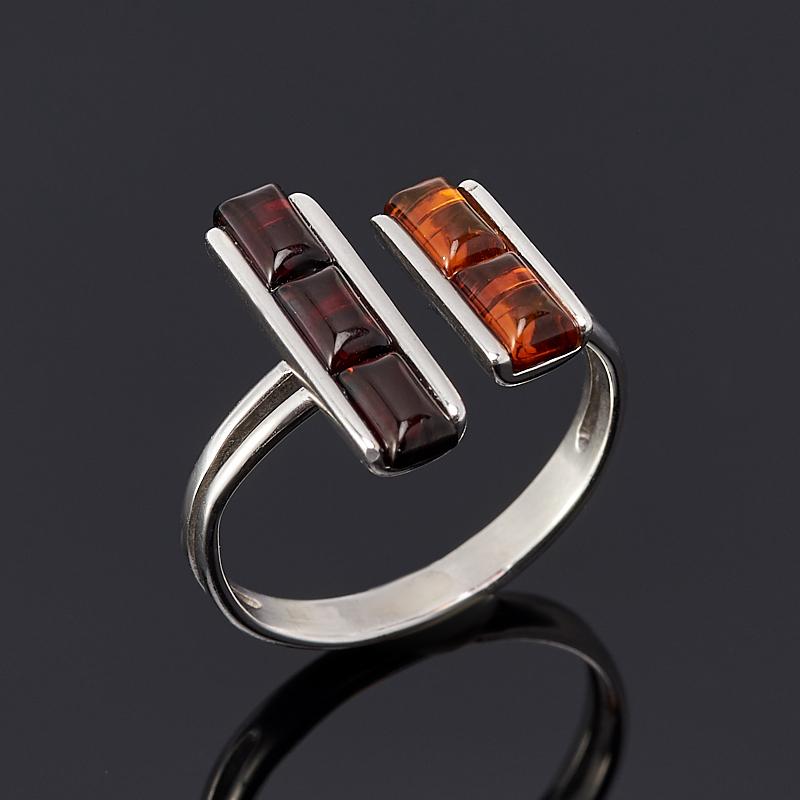 Кольцо янтарь (серебро 925 пр.) размер регулируемый кольцо yueyin r143 925