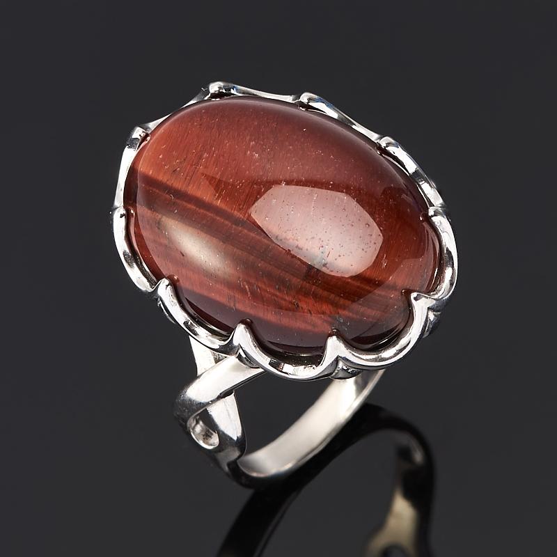 Кольцо бычий глаз ЮАР (серебро 925 пр.) размер 15,5