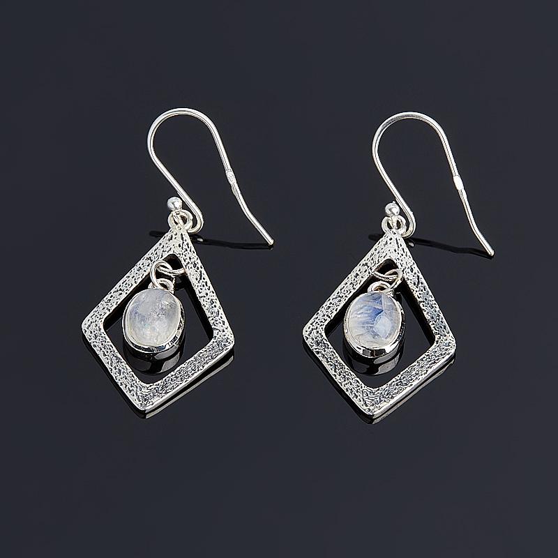 Серьги лунный камень (серебро 925 пр.) серьги лунный камень серебро 925 пр