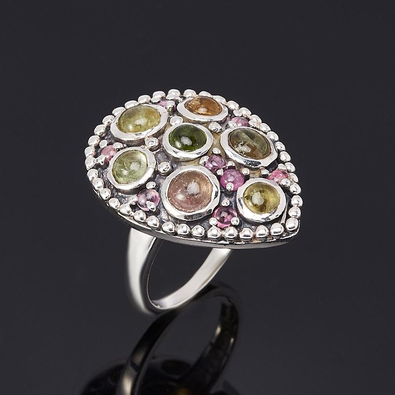 Кольцо турмалин (серебро 925 пр.) размер 17,5 кольцо турмалин зеленый серебро 925 пр размер 18