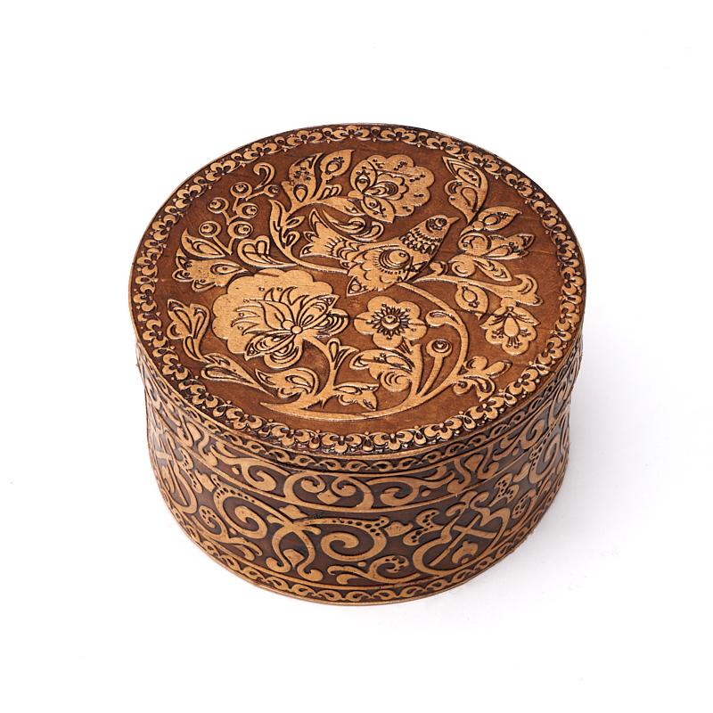 Шкатулка для хранения украшений 8х4,5 см шкатулка для украшений moretto 18 13 5 см коричневый