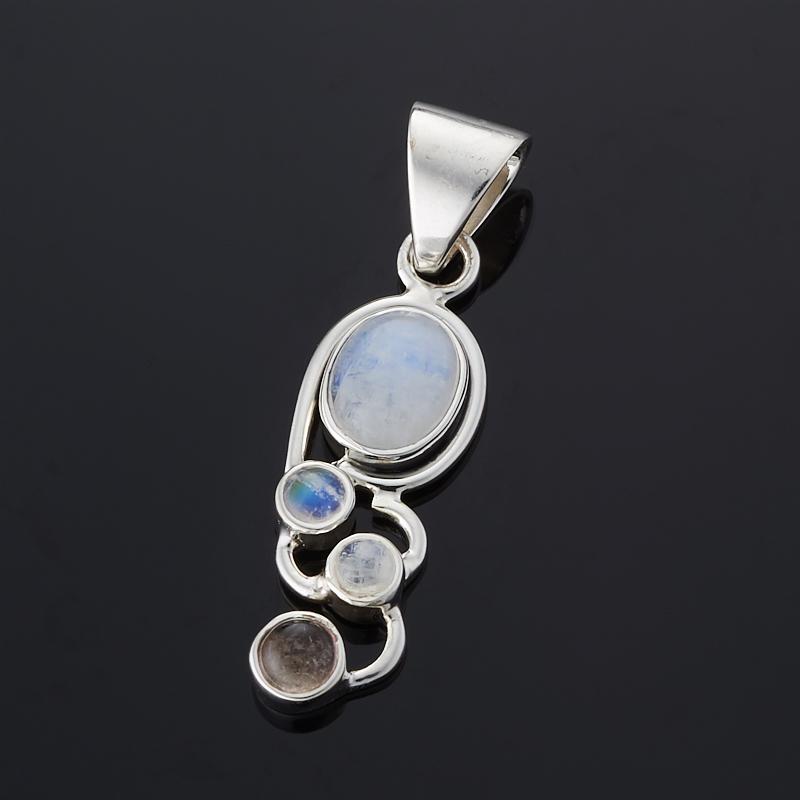 Кулон лунный камень (серебро 925 пр.) кулон лунный камень прямоугольник серебро 925 пр