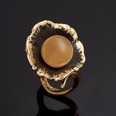 Кольцо селенит Россия (бронза) (регулируемый) размер 16