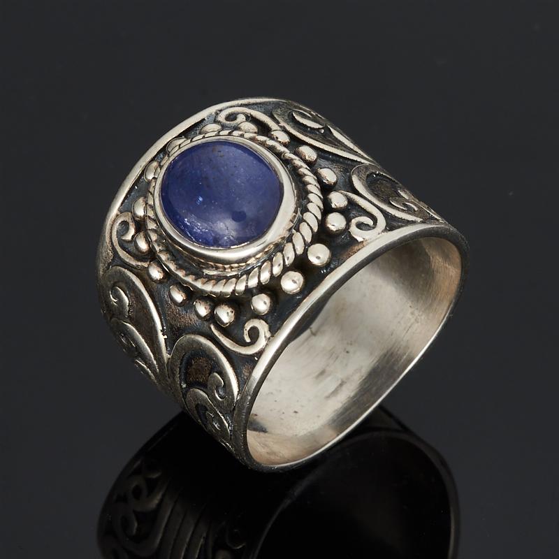 Кольцо танзанит (серебро 925 пр.) размер 19,5