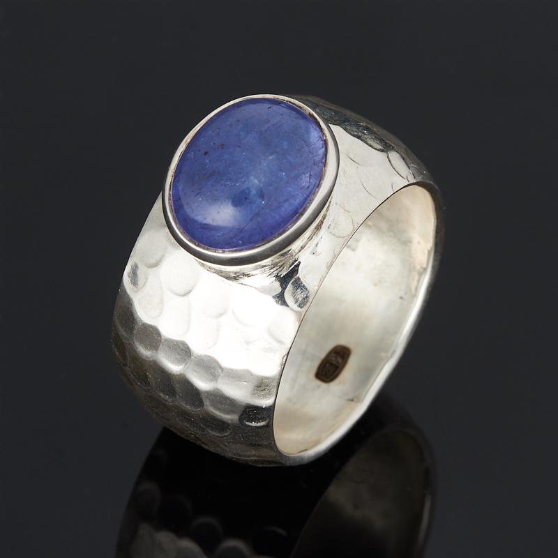 Кольцо танзанит (серебро 925 пр.) размер 18