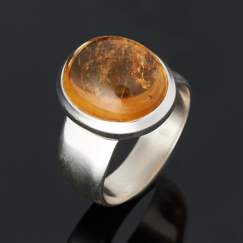 Кольцо цитрин (серебро 925 пр.) размер 17 кольцо цитрин серебро 925 пр размер 18