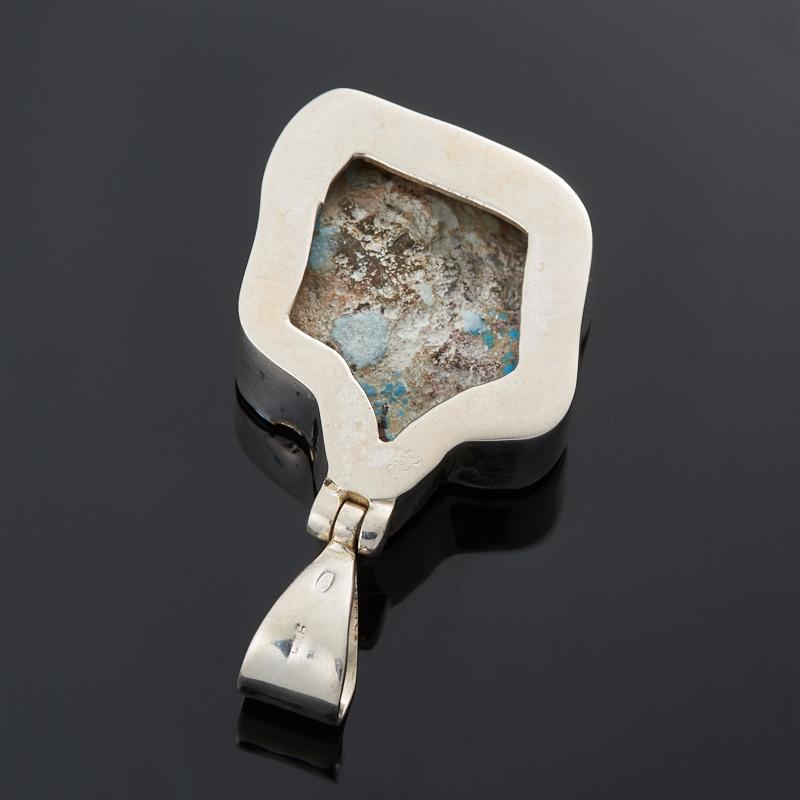 Кулон бирюза Казахстан (серебро 925 пр.)