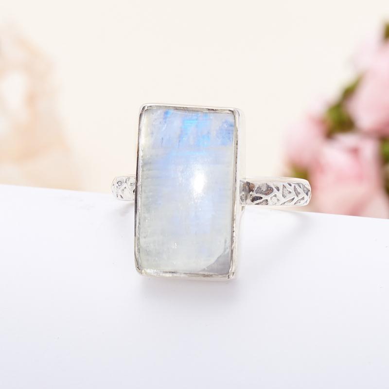 Кольцо лунный камень (серебро 925 пр.) размер 18,5 кольцо лунный камень серебро 925 пр размер 17 5