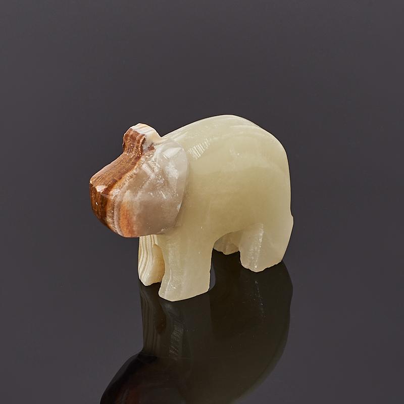 Свинка оникс мраморный 5 см пепельница оникс мраморный 3х10 см