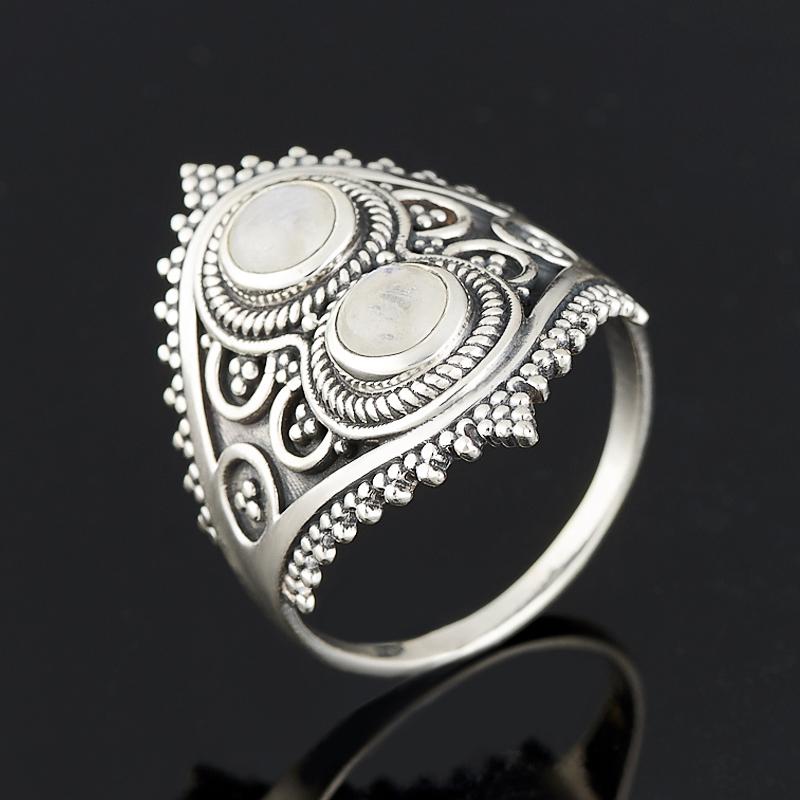 Кольцо лунный камень (серебро 925 пр.) размер 18 кольцо лунный камень серебро 925 пр размер 17 5