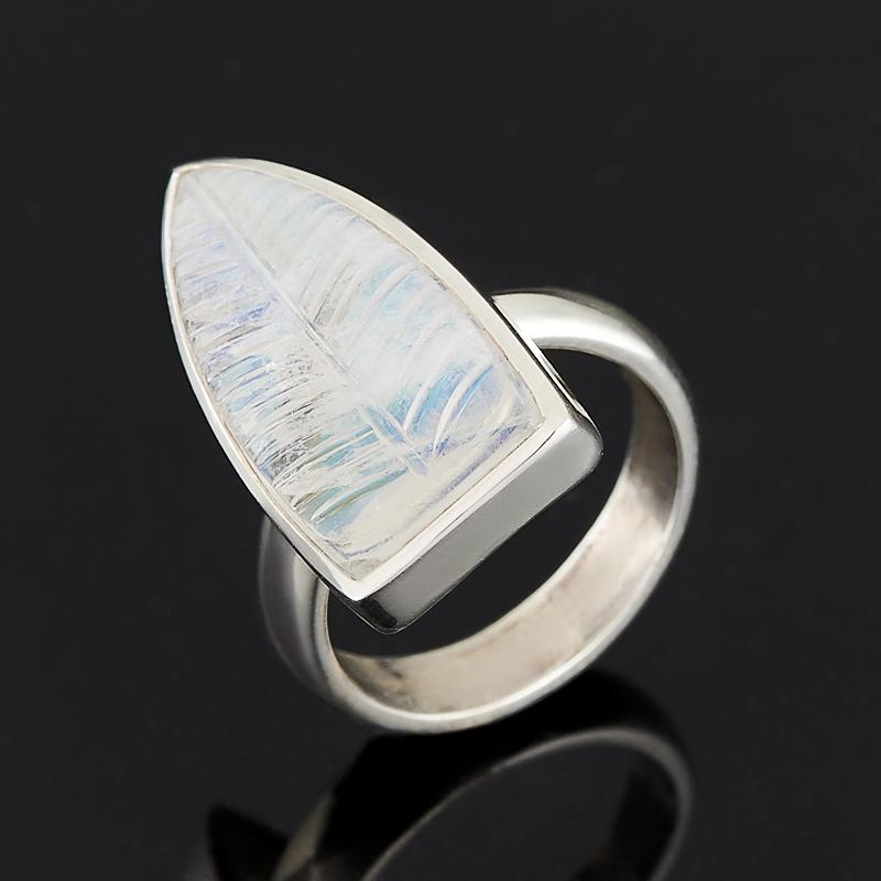 Кольцо лунный камень (серебро 925 пр.) размер регулируемый размер 17,5 кольцо лунный камень серебро 925 пр размер 17 5