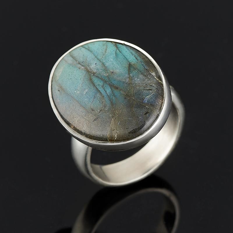Кольцо лабрадор (серебро 925 пр.) размер регулируемый