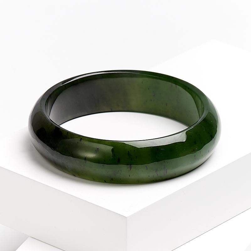 Браслет нефрит зеленый 21 см стела нефрит зеленый m 3х6х13 см