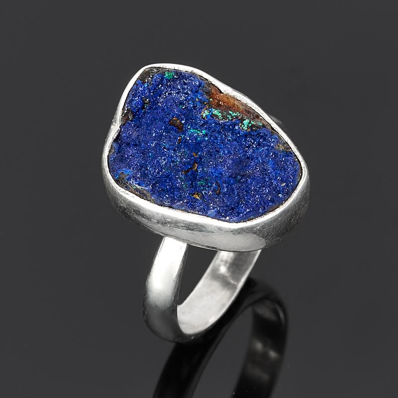 Кольцо азурит (серебро 925 пр.) размер регулируемый кольцо yueyin r143 925