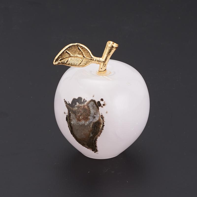 Яблоко оникс мраморный 4х5 см