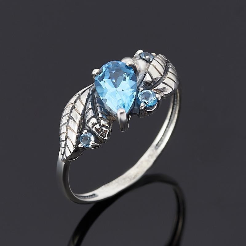 Кольцо топаз swiss огранка (серебро 925 пр.) размер 18 кольцо коюз топаз кольцо т748013584