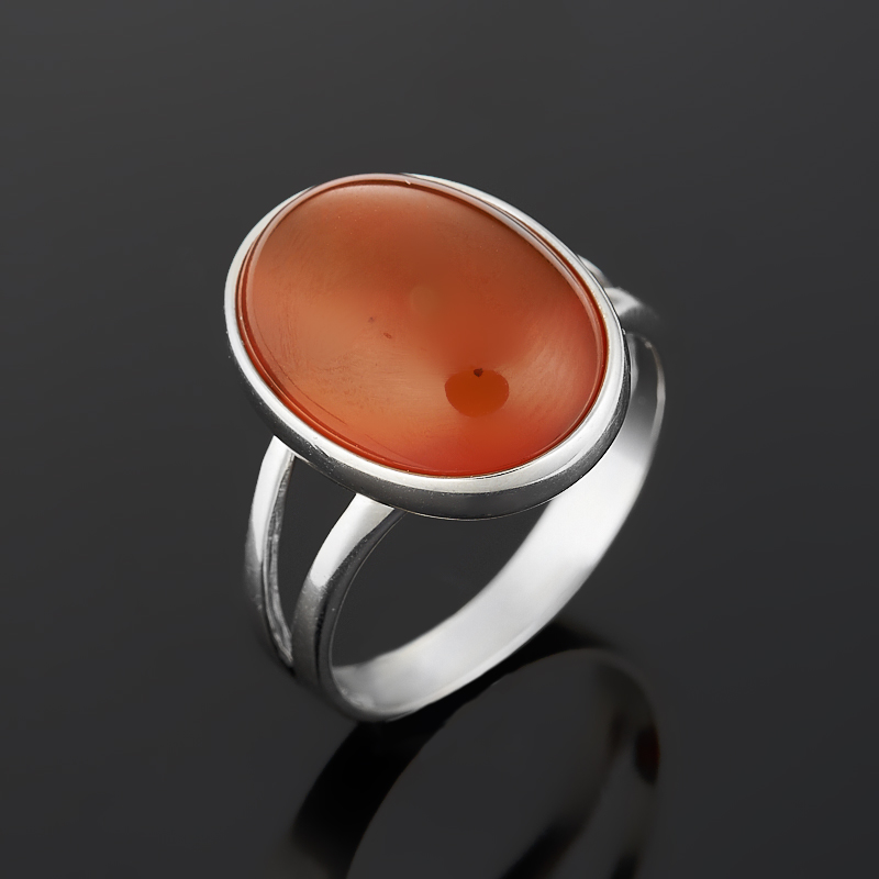 Кольцо сердолик (серебро 925 пр.) размер 18 [супермаркет] jobon jingdong взрывы ключ автомобиля кольцо брелок кольцо кольцо кольцо весной картина носимого zb 052c серебро