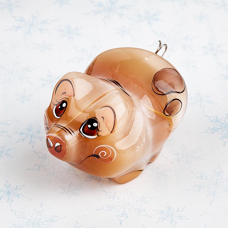 Свинка селенит Россия 7 см