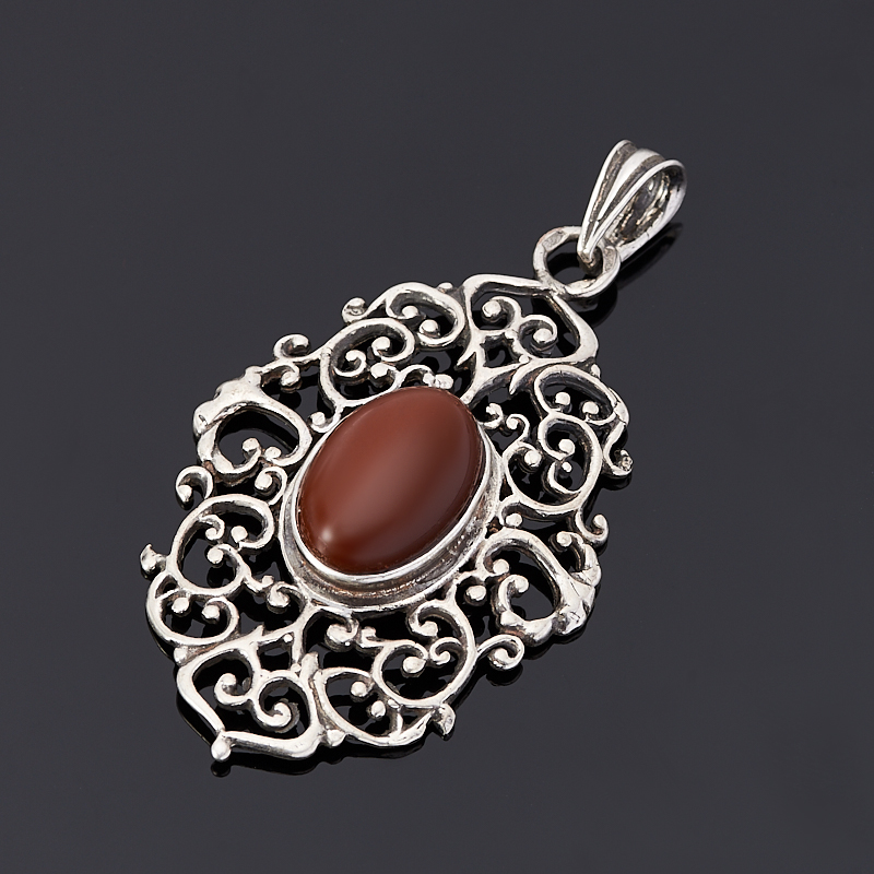 Кулон сердолик (серебро 925 пр.) цена